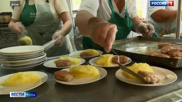 В Туле усилят контроль за школьным питанием