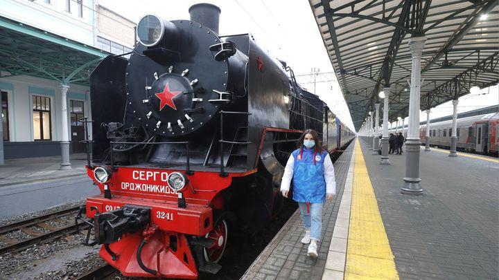 «Поезд Победы» приедет в Тулу