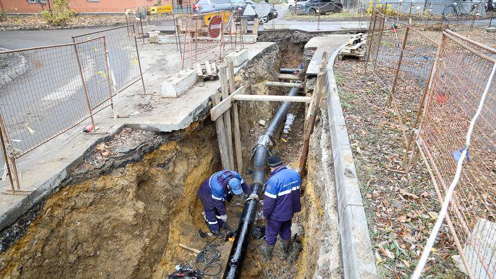 В Туле ведется работа по замене ветхих участков трубопроводов