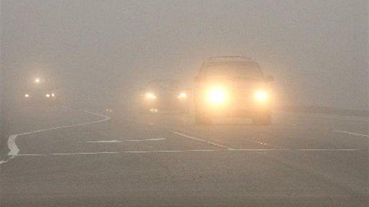 В Тульской области из-за тумана объявлено метеопредупреждение