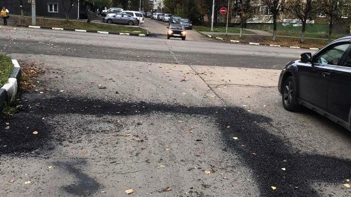 Где в Туле провели ямочный ремонт дорог