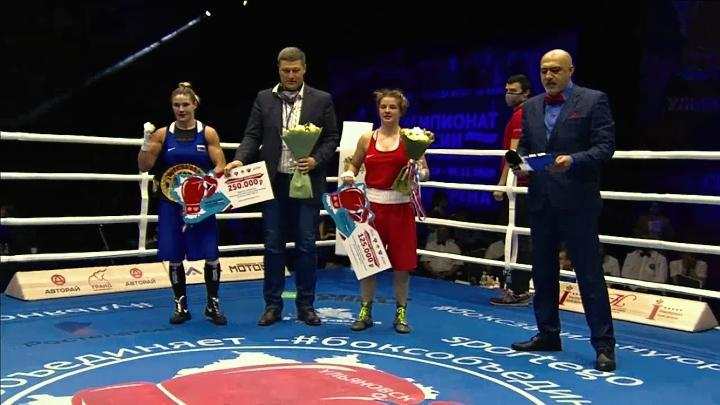 Тулячка Дарья Абрамова – шестикратная чемпионка России по боксу