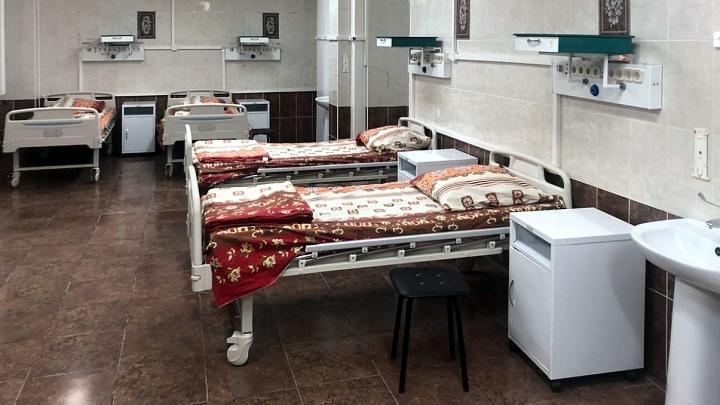 Новый ковидный госпиталь на базе тульской горбольницы №10 в посёлке Мясново