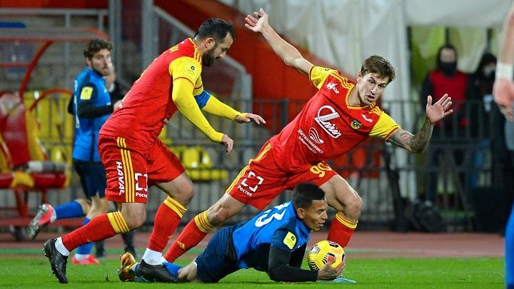 Тульский «Арсенал» сыграл вничью 1:1 с волгоградским «Ротором»