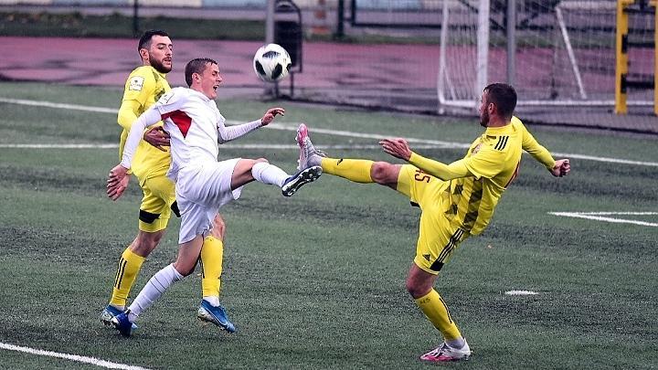 «Химик-Арсенал» победил в Видном в заключительном матче первого круга