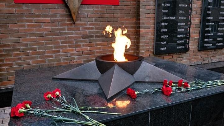 В Туле почтили память земляков, погибших при исполнении служебного долга