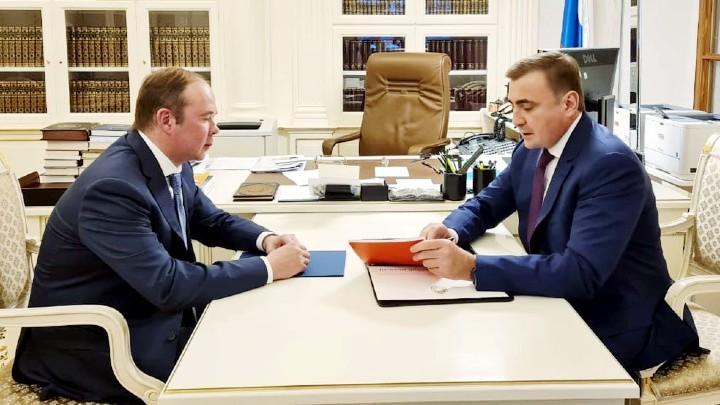 Антон Вайно и Алексей Дюмин