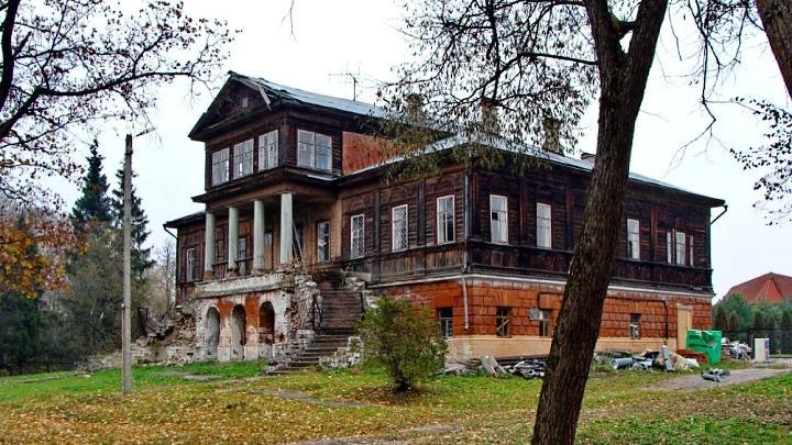 Усадьба Кульжинских в селе Юдинки Алексинского района
