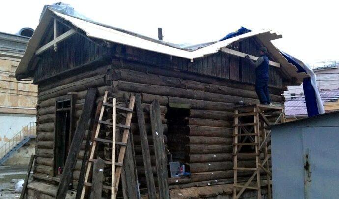 Последней водозаборной будке Тулы восстановили крышу