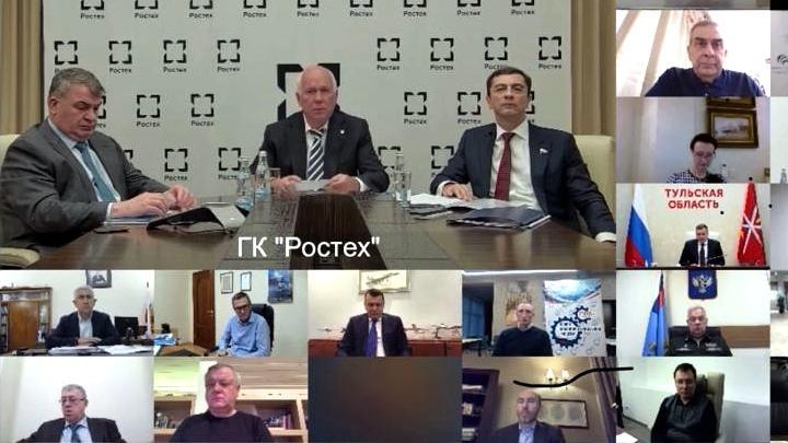 Заседание Бюро СоюзМаш