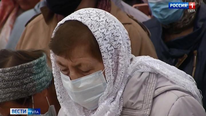 Тульская епархия ужесточает противоэпидемические меры