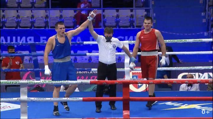 Пятеро тульских боксёров вышли в 1/8 финала чемпионата России