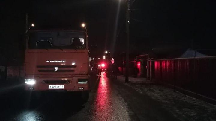 В Туле юноша погиб под колёсами «КамАЗа»