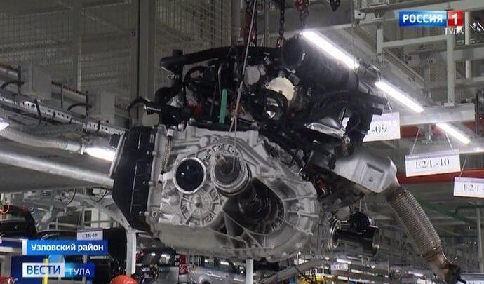 На автозаводе в Узловой начнут собирать двигатели