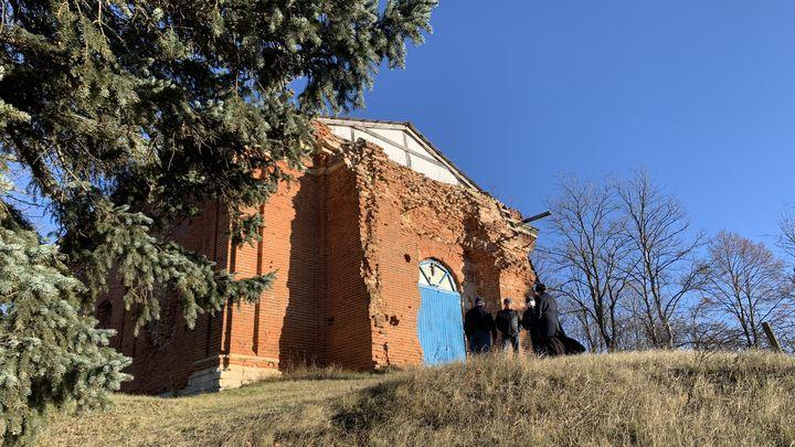 В Ефремове жители восстанавливают храм, построенный в 1860 году