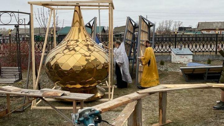 В богородицком селе возрождают старинную колокольню