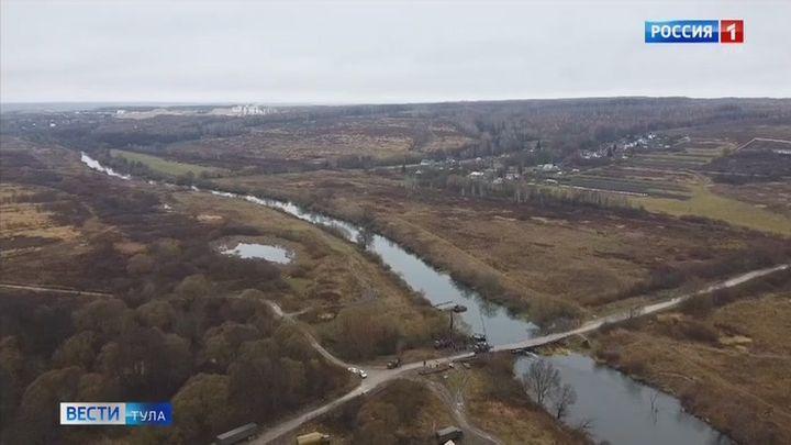 Минобороны помогает Тульской области наводить мосты