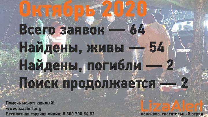 64 человека пропали в Тульской области в октябре
