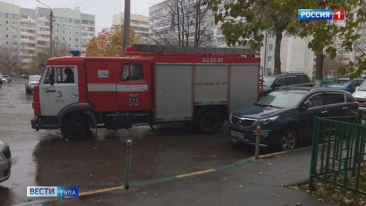 Пожарные эвакуировали 10 человек при ликвидации возгорания на улице Пролетарской