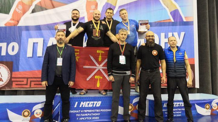 Туляк Денис Полехин - чемпион России по панкратиону