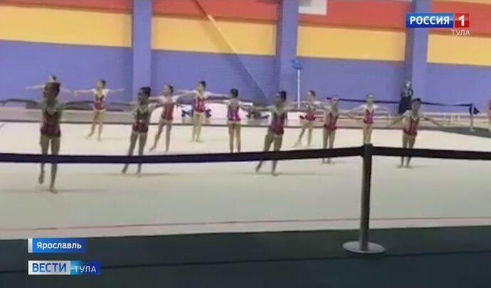 Воспитанницы клуба эстетической гимнастики «Роксэт» успешно выступили сразу на двух турнирах
