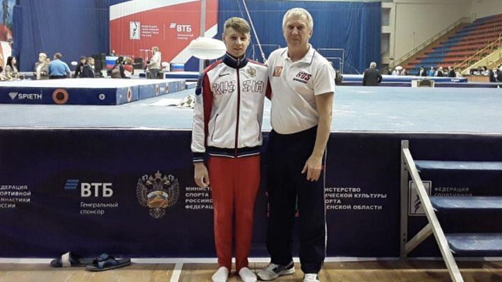 Тульский гимнаст Иван Шестаков - чемпион России