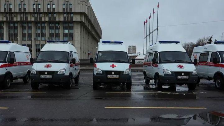 Тульский Центр медицины катастроф получил 39 машин скорой помощи