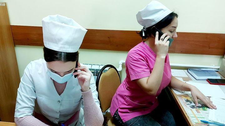 Ефремовские студенты-медики вышли на работу в инфекционное отделение