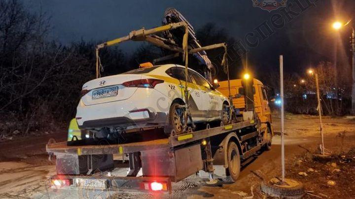 Тульские таксисты за неделю допустили сотни нарушений
