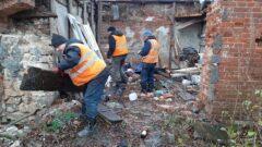 Исторический центр Тулы продолжили избавлять от хлама