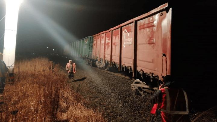 На перегоне станции Венёв-Мордвес произошло ЧП