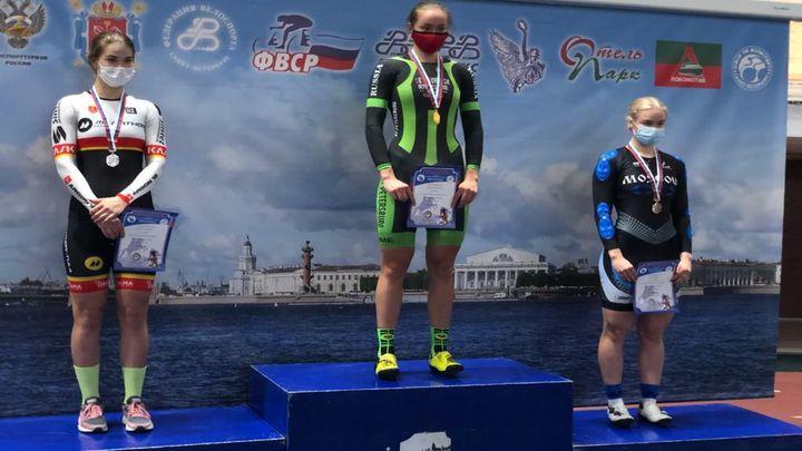 Тульские велогонщики завоевали семь медалей на финише чемпионата России