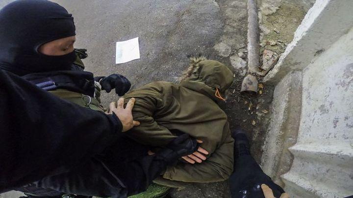 Спецоперация СОБРа закончилась задержанием подозреваемого в экстремизме