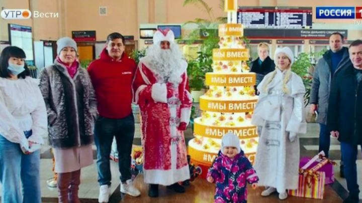 В рамках акции МыВместе в Туле открылась новогодняя ёлка