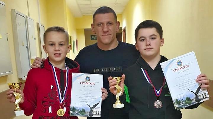 Тульские борцы завоевали две медали в Орле