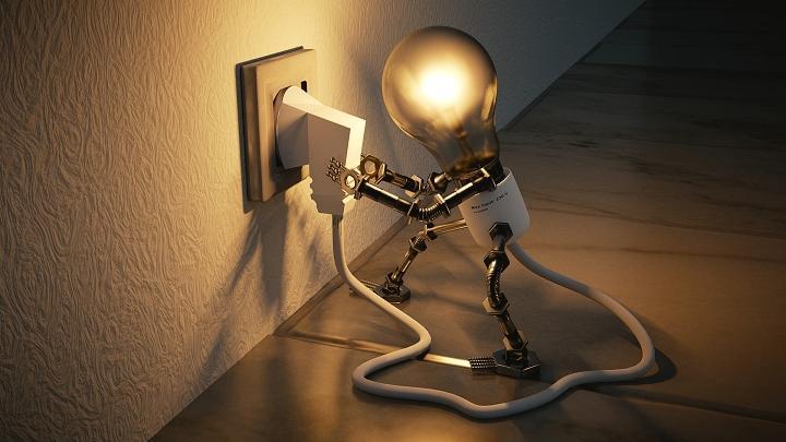 Свет, лампочка, отключение света