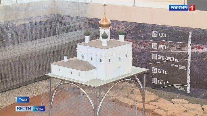 В Тульском кремле открылся для широкого показа новый туристический музейный объект