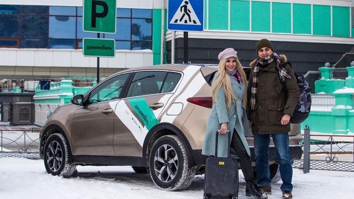 «Делимобиль» в Тульской области под Новый год увеличил территорию поездок