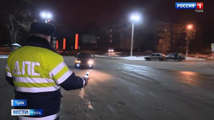 Тульские автоинспекторы не смогли  выявить пьяных водителей