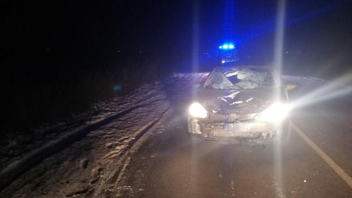 В Киреевском районе на дороге погиб пешеход