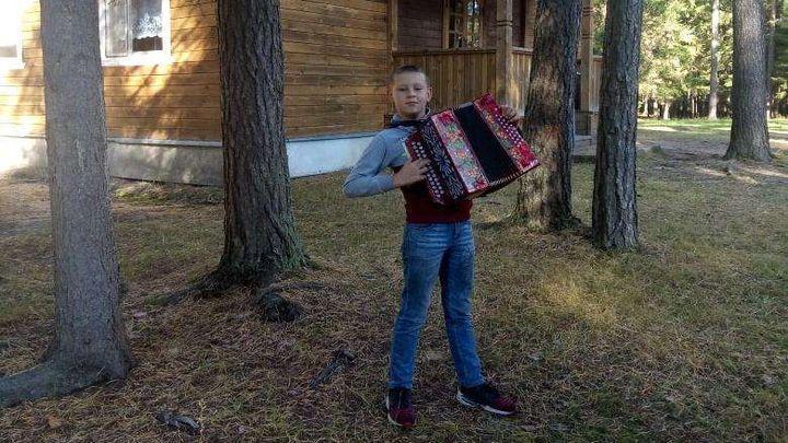Юный гармонист из Щёкино стал лауреатом конкурса-фестиваля