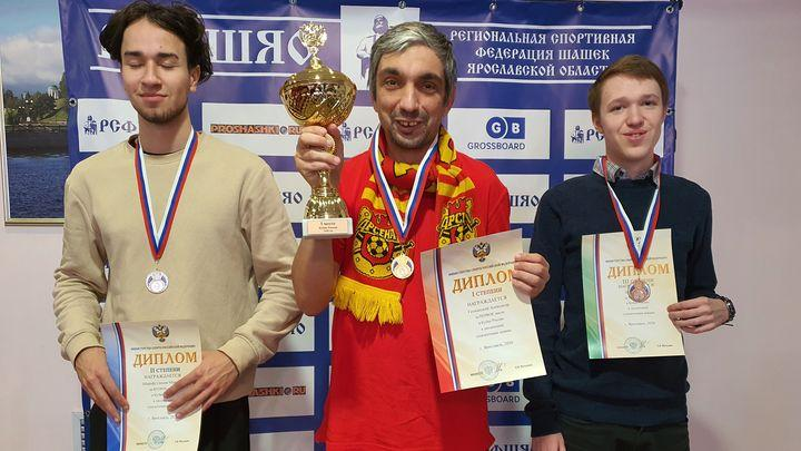 Александр Гетманский - победитель Кубка России по шашкам-100