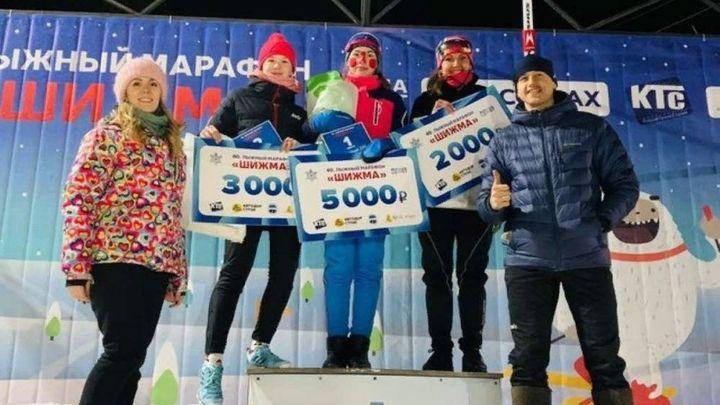 Ефремовская лыжница трижды стала призёром всероссийских гонок