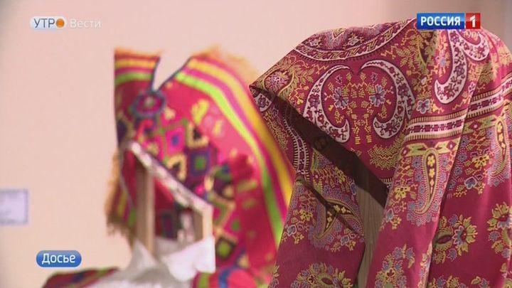 В Узловой можно познакомиться с текстильными аппликациями богородицких мастериц