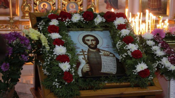 Престольный праздник в честь Александра Невского прошёл в одном из старейших храмов региона