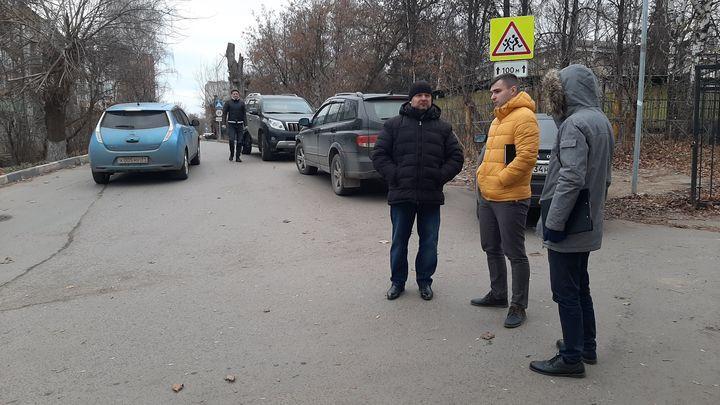 ОНФ обратил внимание тульских властей на опасную дорогу в школу