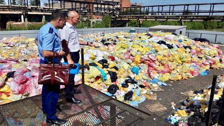 Опасные медицинские отходы незаконно сжигали в Новомосковске