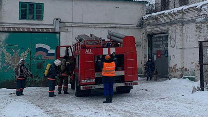 СИЗО-4 обесточили и эвакуировали заключённых
