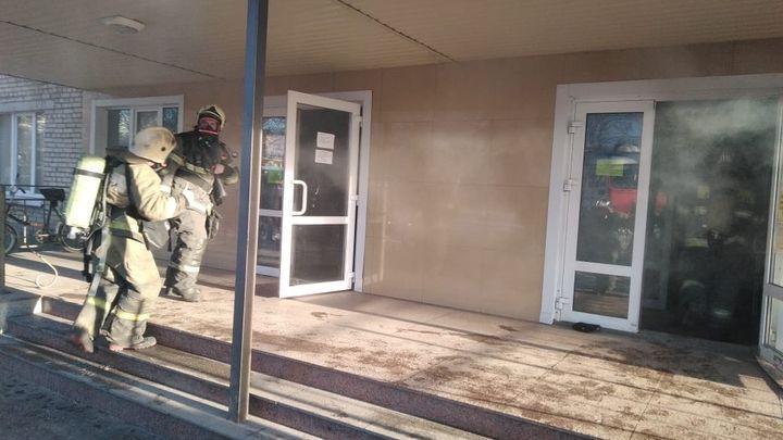 В Туле произошёл пожар в общежитии