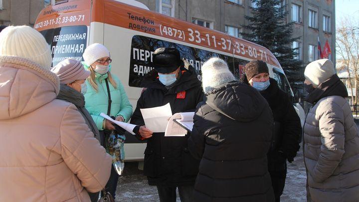 О чём попросили администрацию Тулы жители территории «Рождественское»